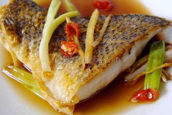 厚生厨房葱烧鲈鱼的做法