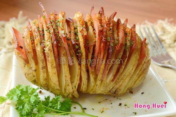 薄切火腿马铃薯的做法