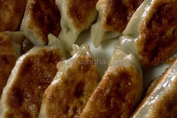 韮菜煎饺的做法