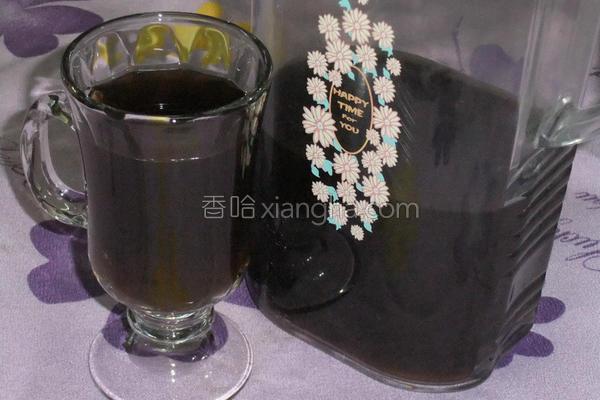 传统凉粉草茶的做法