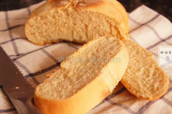 简易汤锅烤白面包的做法