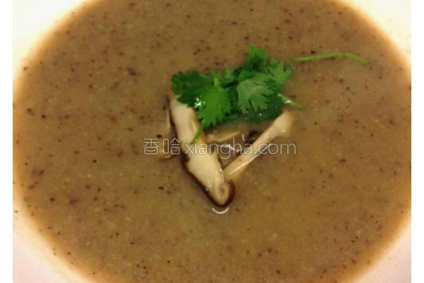 香菇浓汤的做法