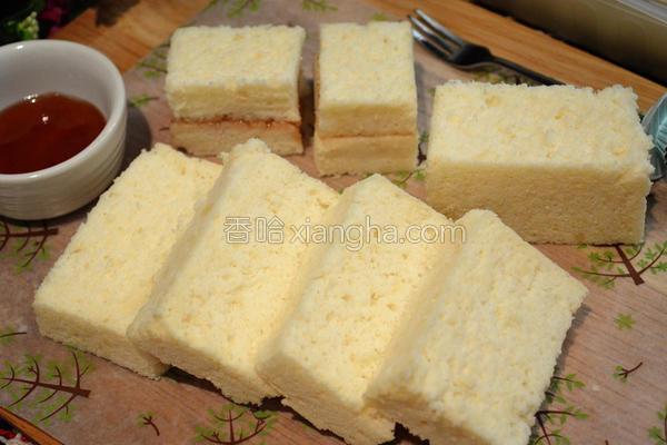 低糖豆腐蛋糕的做法