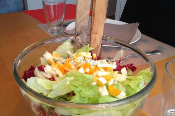 法式沙拉酱的做法
