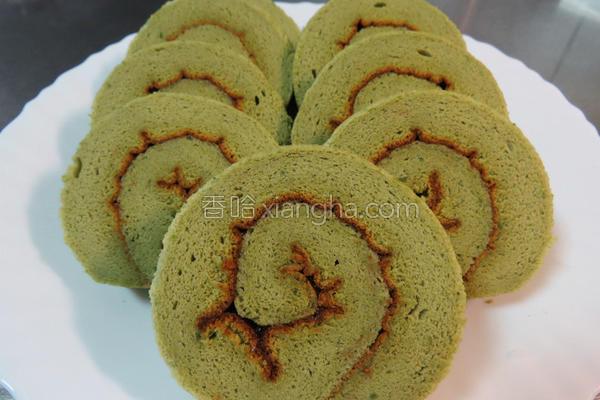 绿茶蛋糕卷的做法