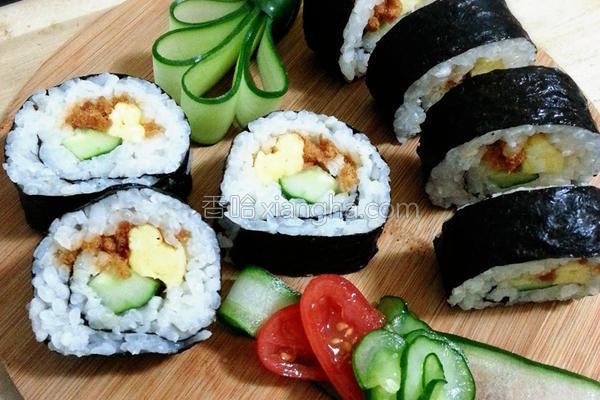 卷寿司的做法