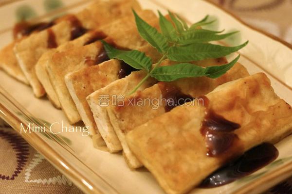 香煎木棉豆腐的做法