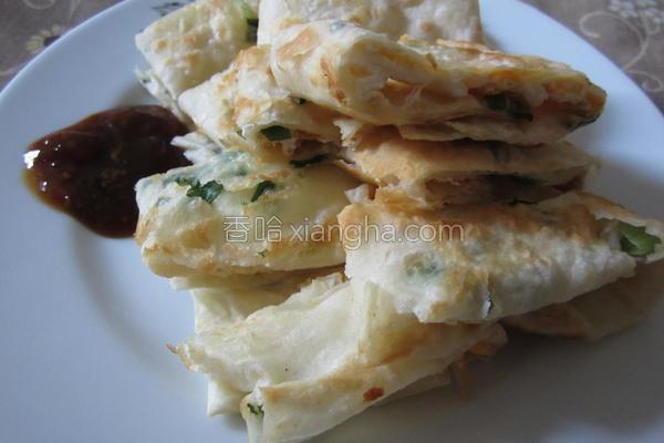 土式葱油蛋饼的做法