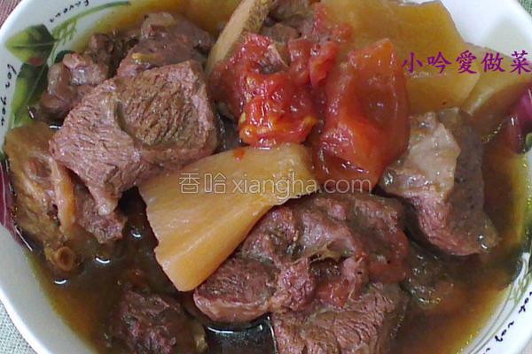 茄汁红烧牛肉的做法