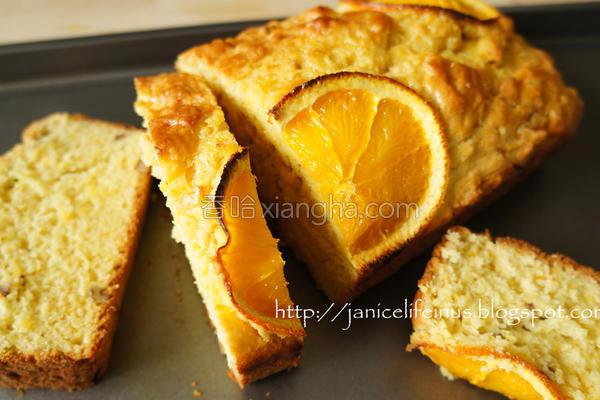 橘子蛋糕的做法