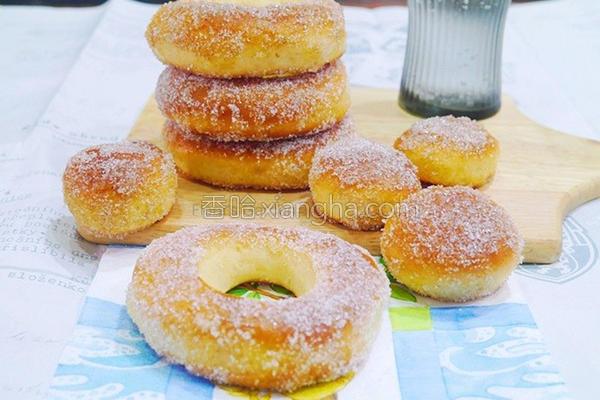 马铃薯甜甜圈的做法