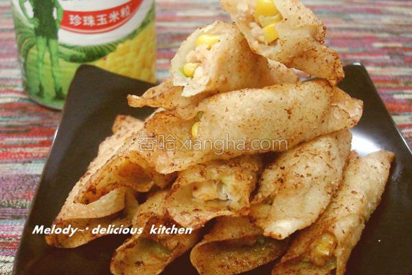 鲜味虾卷的做法