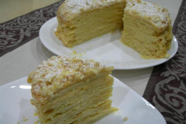 奶香拿破崙酥的做法