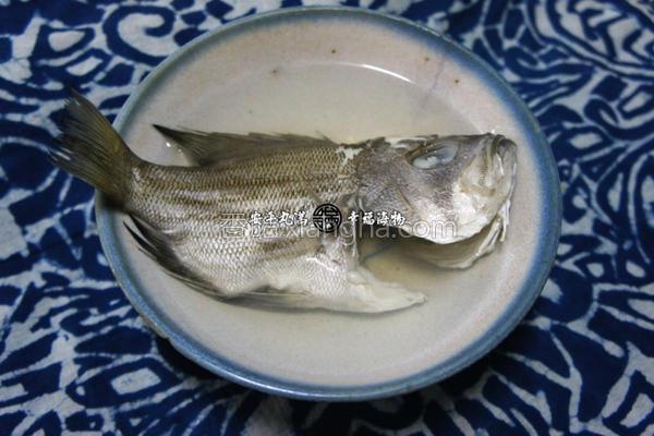 姜丝清汤的做法