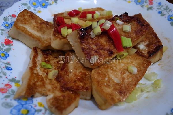 酱烧豆腐料理的做法