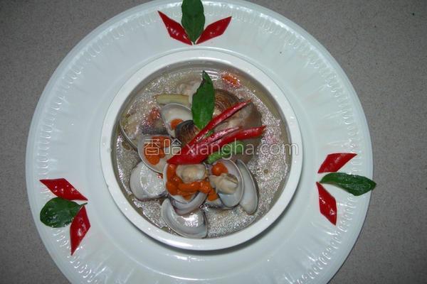 枸杞蛤蜊鸡汤的做法
