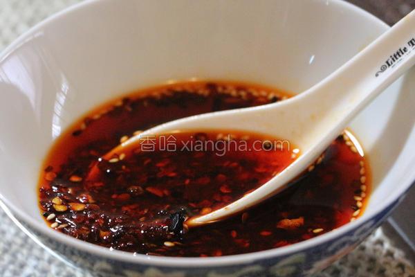 香辣红油的做法