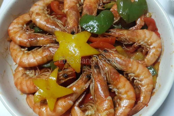 彩椒糖醋虾的做法