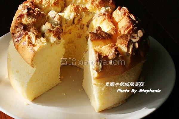 牛奶乳酪戚风蛋糕的做法