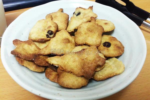 低卡燕麦脆饼干的做法