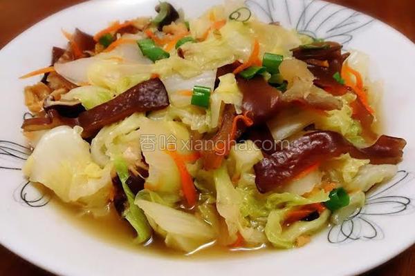 白菜卤的做法