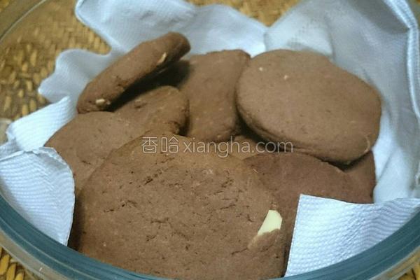 松露巧克力饼干的做法
