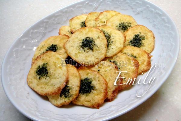海苔蛋白饼的做法