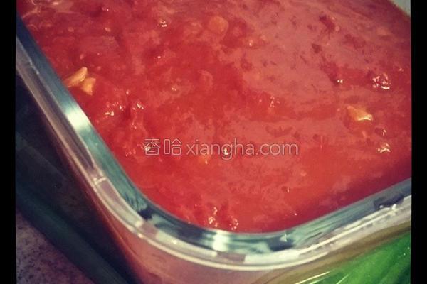 百搭番茄酱汁的做法