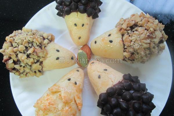 小刺猬饼干的做法