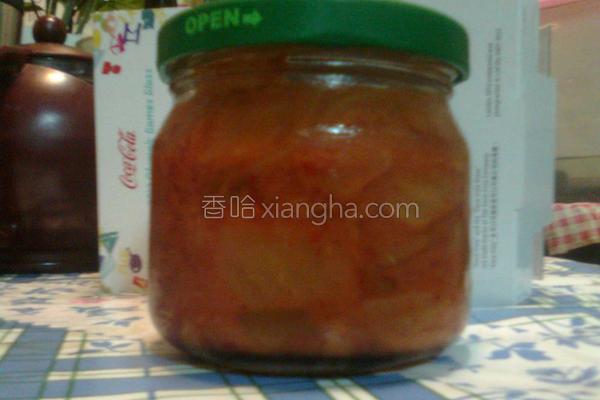 自制韩式泡菜的做法