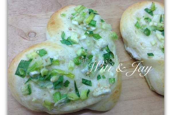 心葱面包的做法