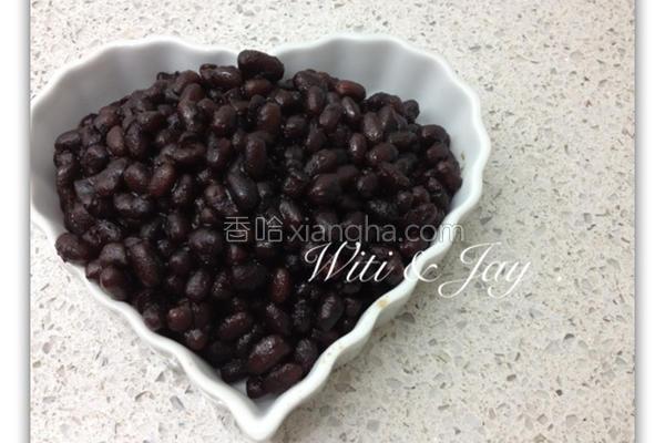 蜜红豆粒减糖配方的做法