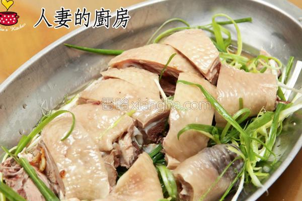 三牲之葱烧鸡肉篇的做法