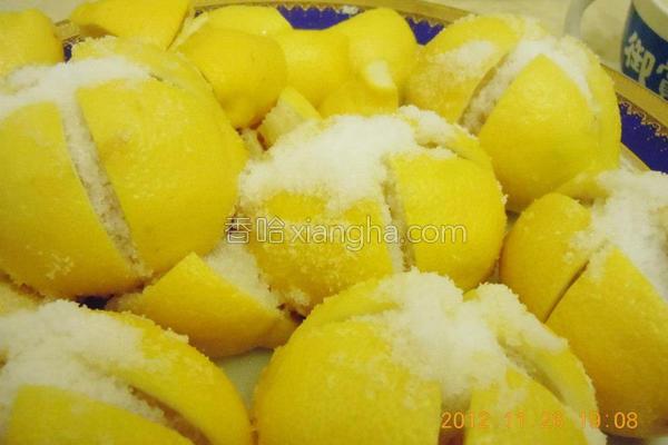 摩洛哥腌柠檬的做法