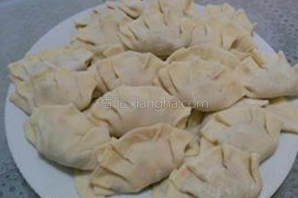 素食高丽菜水饺的做法