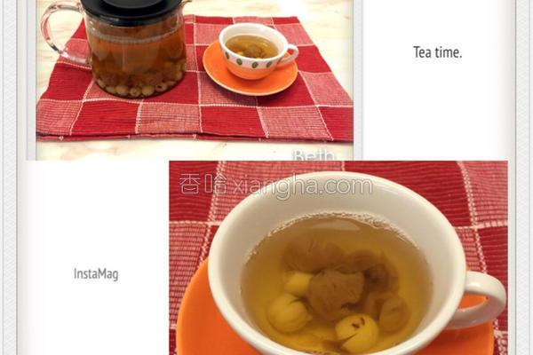 桂圆莲子茶的做法