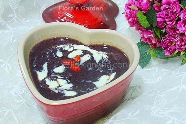 银耳红豆紫米饮的做法