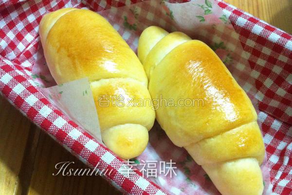 奶油面包卷的做法
