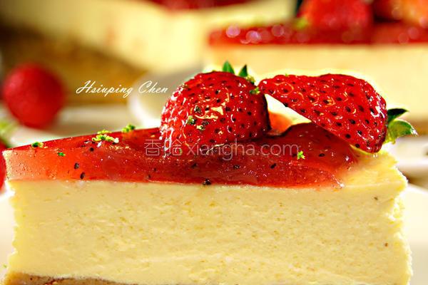 草莓起司蛋糕的做法