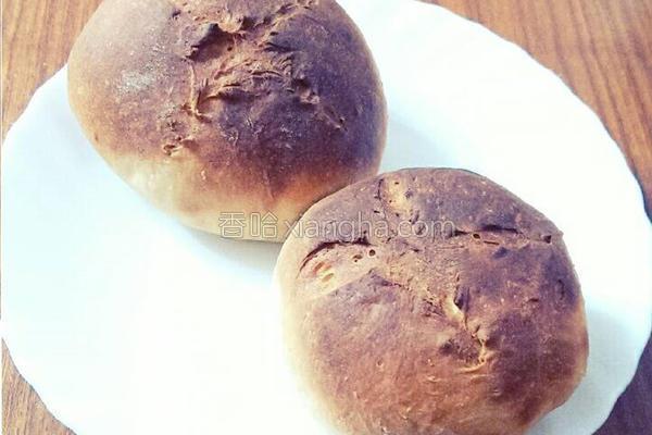 黑糖酸奶面包的做法