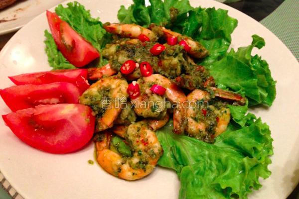 鲜辣虾的做法