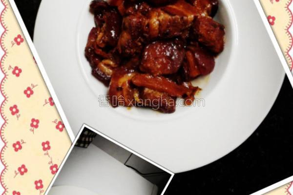 龙井香豆腐乳控肉的做法