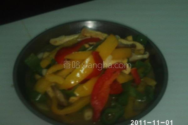 绝代三椒炒臭豆腐的做法