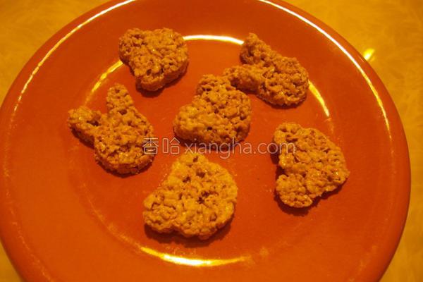 K香脆麦米片脆饼的做法