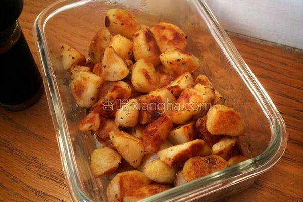 意式风味奶油薯块的做法