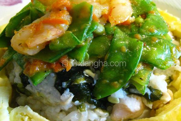 海陆养生糙米饭