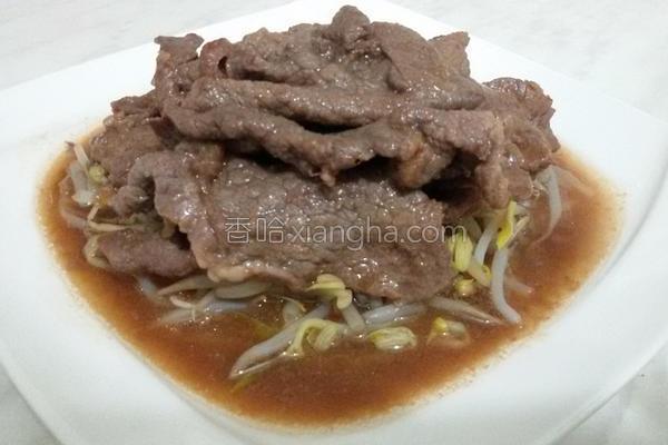 韩式烧牛肉片的做法