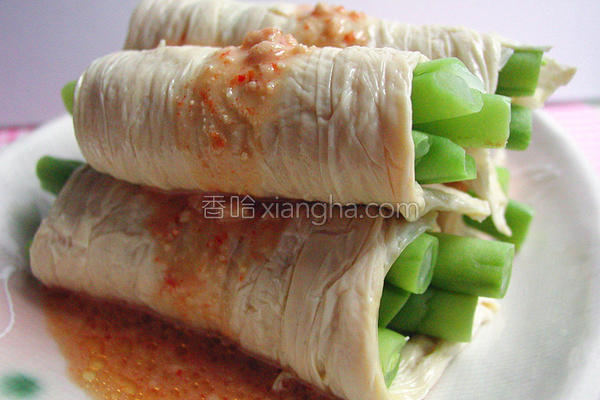 腐乳豆包四季豆的做法