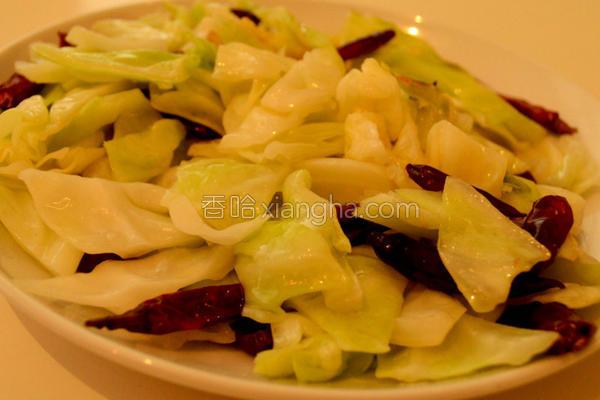 炝炒白菜的做法