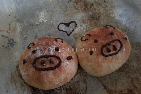 简易小面包的做法